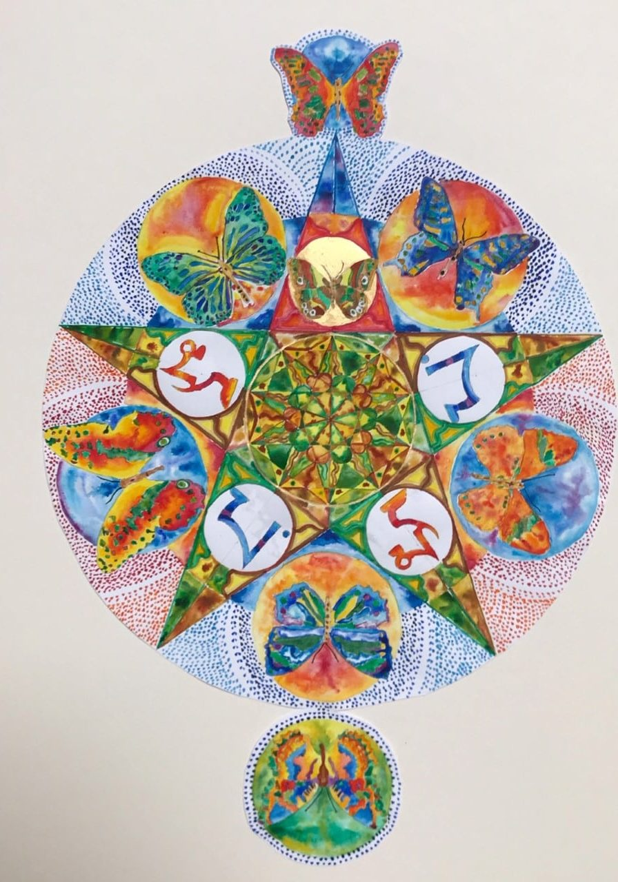 mandala for Gordon page